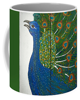 Peacock Iv Coffee Mug