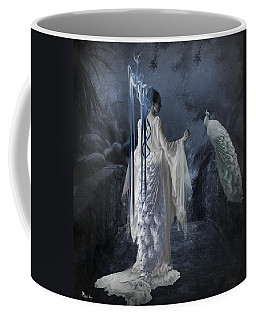 Peacock Lady Coffee Mug