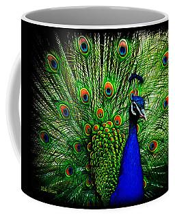 Peacock Paradise Coffee Mug