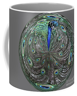 Peacock Swirl #2 Coffee Mug