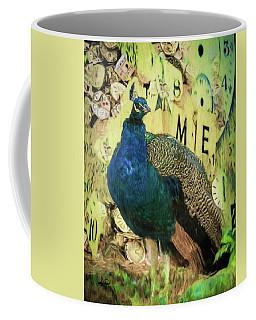 Peacock Time Coffee Mug