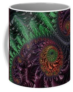 Peacock's Eye Coffee Mug