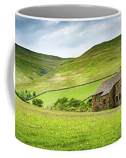 Coffee Mug featuring the photograph Peak Farm by Nick Bywater