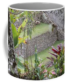 Peeking In At Machu Picchu Coffee Mug