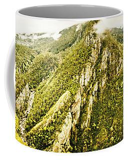 Peaks And Troughs Coffee Mug