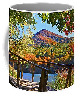 Peaks Of Otter Bridge Coffee Mug