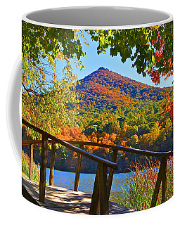 Peaks Of Otter Bridge Coffee Mug