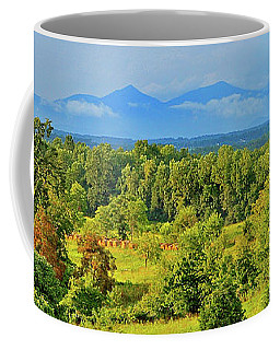 Peaks Of Otter Rainstorm Coffee Mug