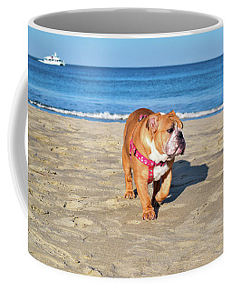 Peanut On The Beach Coffee Mug