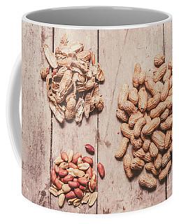 Peanut Shelling Coffee Mug
