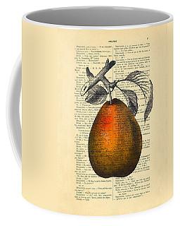 Pear Fruit Kitchen Decor Coffee Mug