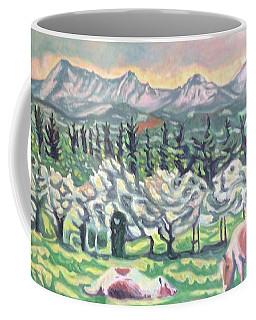 Pear Trees Coffee Mug