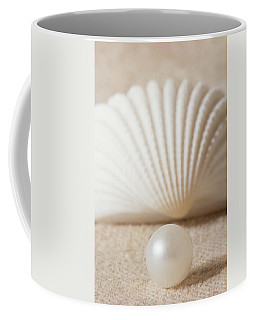 Pearl And Shell Coffee Mug