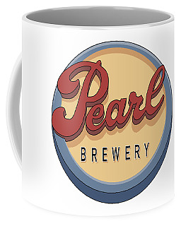 Pearl Brewery Sign Coffee Mug