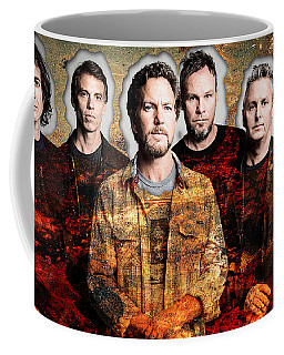 Pearl Jam Coffee Mug by Marvin Blaine
