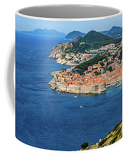 Pearl Of The Adriatic, Dubrovnik, Known As Kings Landing In Game Of Thrones, Dubrovnik, Croatia Coffee Mug