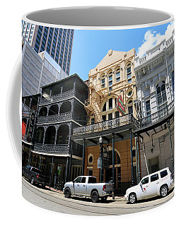 Coffee Mug featuring the photograph Pearl Oyster Bar by Steven Spak
