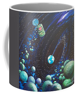 Blaa Kattproduksjoner       Peas On Earth Coffee Mug