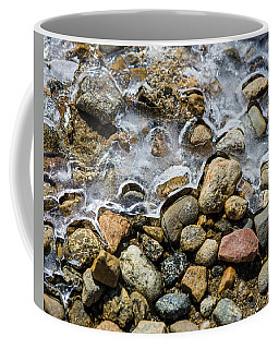 Pebbles And Ice Coffee Mug