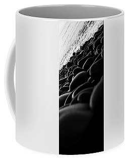 Pebbles On A Background Of Beach 3 Coffee Mug