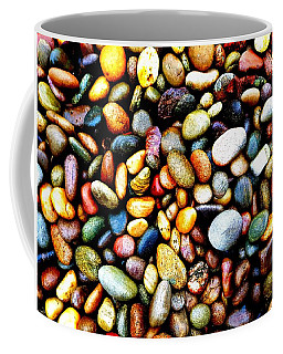 Pebbles On A Beach Coffee Mug