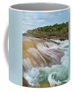 Pedernales Falls Coffee Mug by Tim Fitzharris