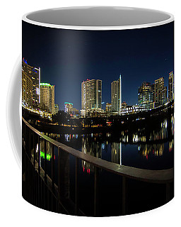 Pedestrian Bridge View Coffee Mug