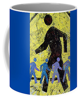 Pedestrian Crossing Coffee Mug