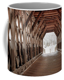 Pedestrian Lattice Bridge Coffee Mug