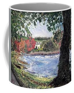 Peebles The Cauld And Riverside House Coffee Mug