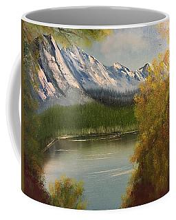 Peek-a-boo Mountain Coffee Mug