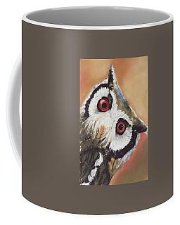 Peekaboo Owl Coffee Mug
