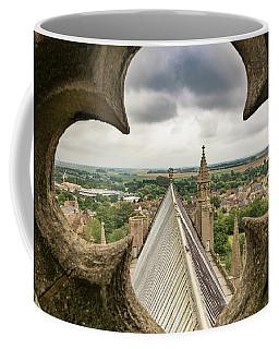 Peeking At Ely Coffee Mug