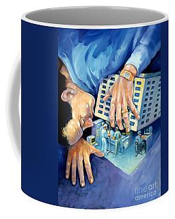 Peeking At The Medical Industry Coffee Mug