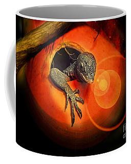 Peeking Out Coffee Mug by Elaine Manley