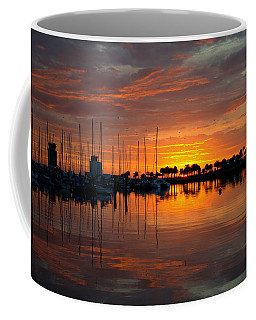Peeking Sun Coffee Mug
