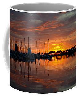 Peeking Sun Coffee Mug
