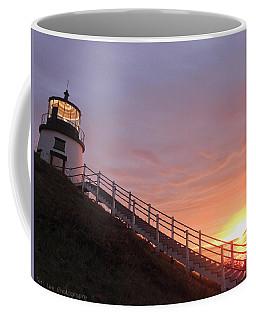 Peeking Sunrise Coffee Mug