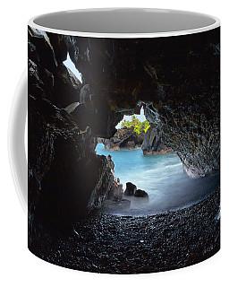 Peeking Through The Lava Tube Coffee Mug