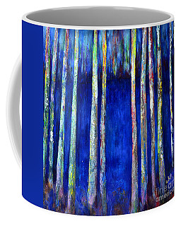 Peeking Through The Trees Coffee Mug
