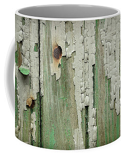 Coffee Mug featuring the photograph Peeling 3 by Mike Eingle