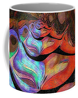 Peeling Back The Layers Coffee Mug by Kathie Chicoine
