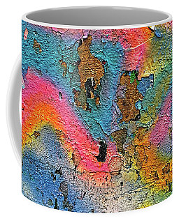 Peeling Paint Graffiti Coffee Mug