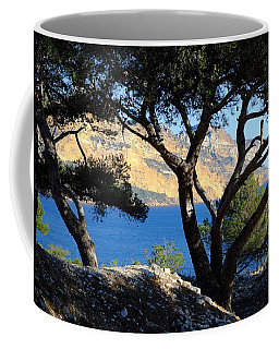 Peeping Through Pines Coffee Mug