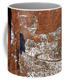 Peering Into The Valley Coffee Mug