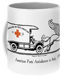 Pegasus At Work For The Allies Coffee Mug