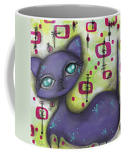 Peggy Cat Coffee Mug by Abril Andrade Griffith