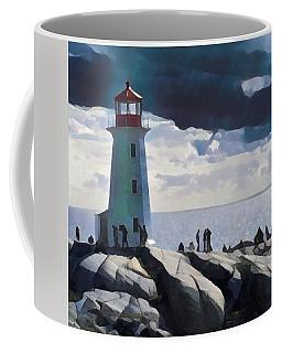 Peggy Painting Coffee Mug