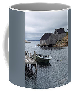 Coffee Mug featuring the photograph Peggys Cove Canada by Richard Bryce and Family
