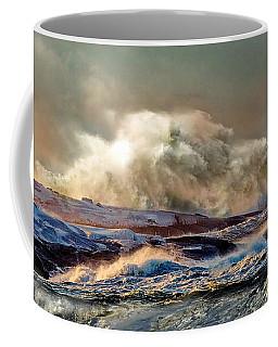 Peggy's Cove Winter Storm - Nova Scotia Coffee Mug